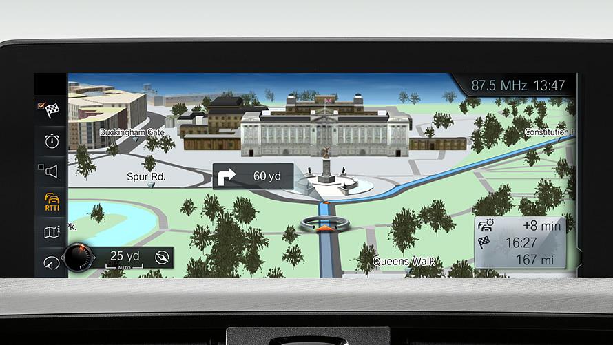 BMW 4 Series Gran Coupé : Driver Assistance